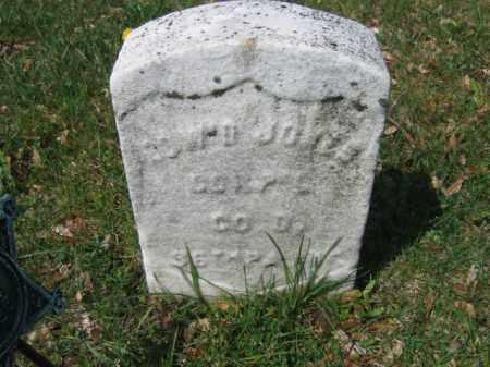 JONES (CW), EDWARD - Schuylkill County, Pennsylvania | EDWARD JONES (CW) - Pennsylvania Gravestone Photos