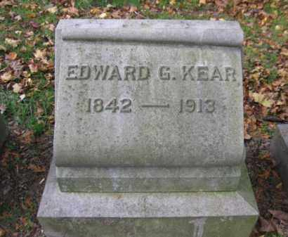 KEAR, EDWARD G. - Schuylkill County, Pennsylvania | EDWARD G. KEAR - Pennsylvania Gravestone Photos