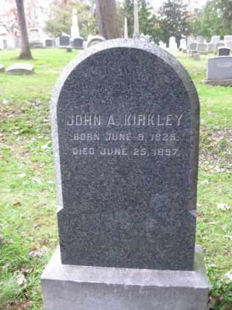 KIRKLEY, JOHN A. - Schuylkill County, Pennsylvania | JOHN A. KIRKLEY - Pennsylvania Gravestone Photos