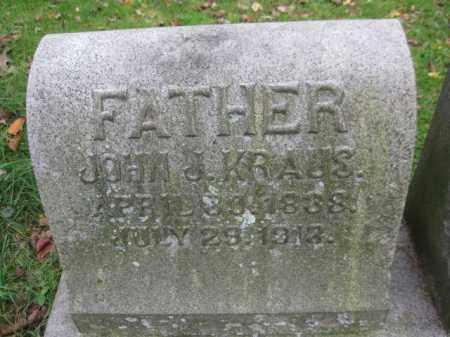 KRAUSS, JOHN J. - Schuylkill County, Pennsylvania | JOHN J. KRAUSS - Pennsylvania Gravestone Photos