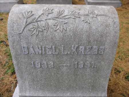 KREBS, DANIEL L. - Schuylkill County, Pennsylvania | DANIEL L. KREBS - Pennsylvania Gravestone Photos