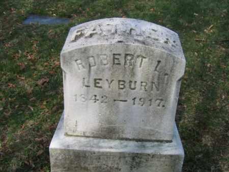 LEYBURN, ROBERT L. - Schuylkill County, Pennsylvania | ROBERT L. LEYBURN - Pennsylvania Gravestone Photos
