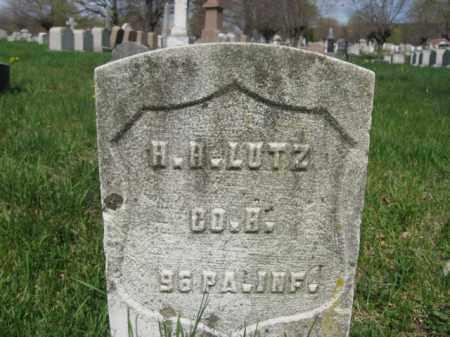 LUTZ (CW), HENRY H. - Schuylkill County, Pennsylvania | HENRY H. LUTZ (CW) - Pennsylvania Gravestone Photos