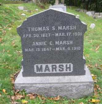 MARSCH (CW), THOMAS S. - Schuylkill County, Pennsylvania   THOMAS S. MARSCH (CW) - Pennsylvania Gravestone Photos