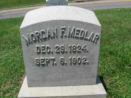 MEDLAR, MORGAN - Schuylkill County, Pennsylvania | MORGAN MEDLAR - Pennsylvania Gravestone Photos