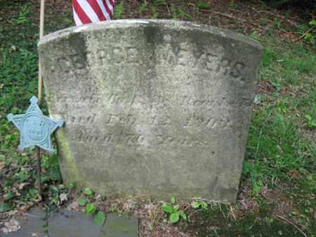 MEYERS (CW), GEORGE - Schuylkill County, Pennsylvania   GEORGE MEYERS (CW) - Pennsylvania Gravestone Photos