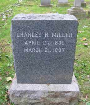 MILLER (CW), CHARLES H. - Schuylkill County, Pennsylvania | CHARLES H. MILLER (CW) - Pennsylvania Gravestone Photos