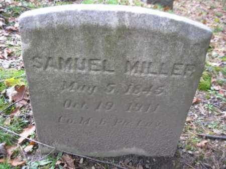 MILLER (CW), SAMUEL - Schuylkill County, Pennsylvania | SAMUEL MILLER (CW) - Pennsylvania Gravestone Photos