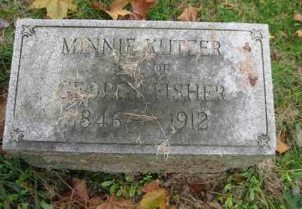 MINNIE, KUTEER - Schuylkill County, Pennsylvania | KUTEER MINNIE - Pennsylvania Gravestone Photos