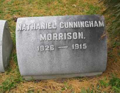 MORRISON (CW), NATHANIEL C. - Schuylkill County, Pennsylvania | NATHANIEL C. MORRISON (CW) - Pennsylvania Gravestone Photos