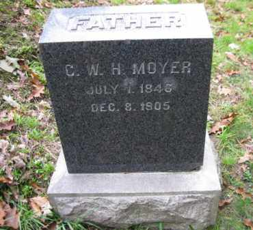 MOYER, C.W.H. - Schuylkill County, Pennsylvania | C.W.H. MOYER - Pennsylvania Gravestone Photos