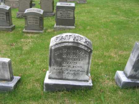 MOYER, JOSEPH - Schuylkill County, Pennsylvania | JOSEPH MOYER - Pennsylvania Gravestone Photos