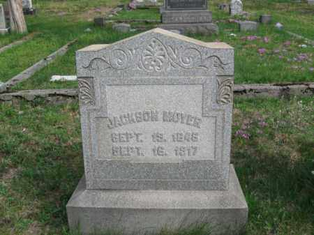 MOYER, JACKSON - Schuylkill County, Pennsylvania   JACKSON MOYER - Pennsylvania Gravestone Photos