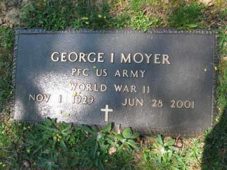 MOYER (WW II), GEORGE I. - Schuylkill County, Pennsylvania | GEORGE I. MOYER (WW II) - Pennsylvania Gravestone Photos