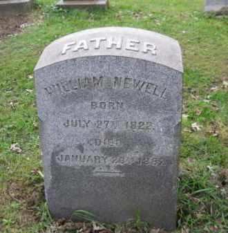 NEWELL, WILLIAM - Schuylkill County, Pennsylvania   WILLIAM NEWELL - Pennsylvania Gravestone Photos