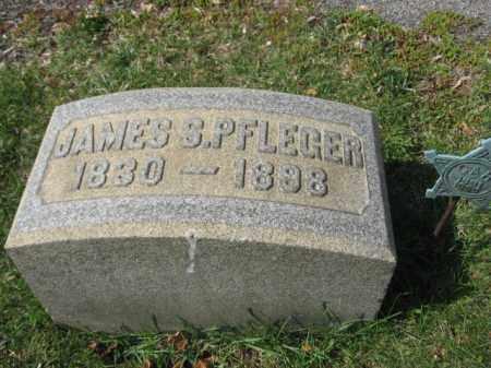 PFLEGER, JAMES S. - Schuylkill County, Pennsylvania | JAMES S. PFLEGER - Pennsylvania Gravestone Photos