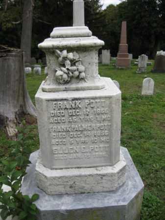 POTT (CW), FRANK - Schuylkill County, Pennsylvania | FRANK POTT (CW) - Pennsylvania Gravestone Photos