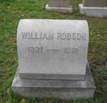 ROBSON, WILLIAM - Schuylkill County, Pennsylvania | WILLIAM ROBSON - Pennsylvania Gravestone Photos