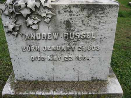 RUSSEL, ANDREW - Schuylkill County, Pennsylvania | ANDREW RUSSEL - Pennsylvania Gravestone Photos