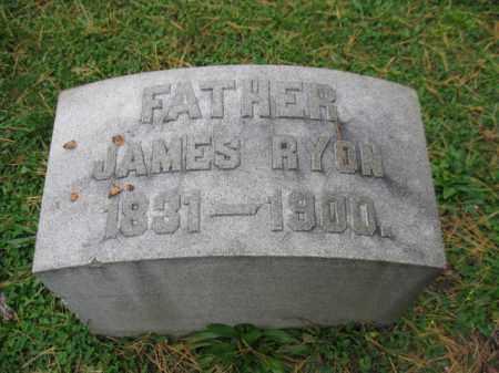 RYON, JAMES - Schuylkill County, Pennsylvania | JAMES RYON - Pennsylvania Gravestone Photos