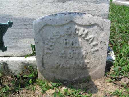 SCHALL (CW), THOMAS - Schuylkill County, Pennsylvania   THOMAS SCHALL (CW) - Pennsylvania Gravestone Photos