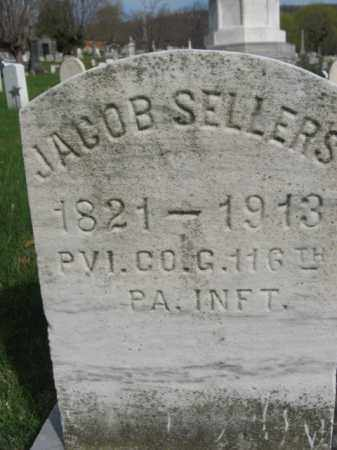 SELLERS (CW), JACOB - Schuylkill County, Pennsylvania   JACOB SELLERS (CW) - Pennsylvania Gravestone Photos