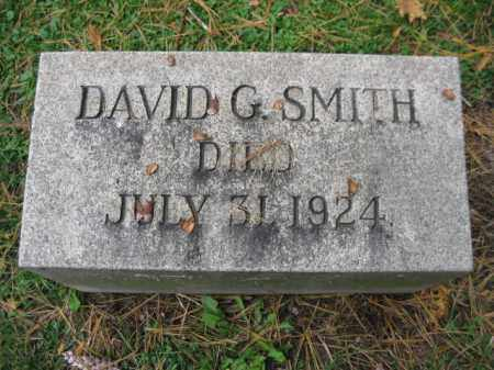 SMITH, DAVID G. - Schuylkill County, Pennsylvania | DAVID G. SMITH - Pennsylvania Gravestone Photos