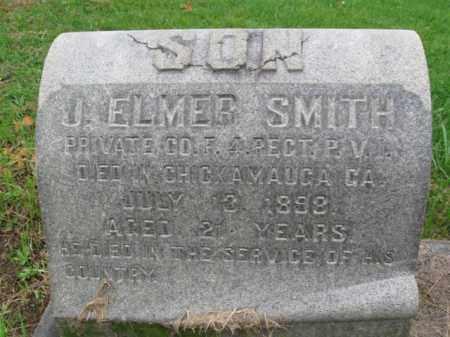 SMITH (SAW), J. ELMER - Schuylkill County, Pennsylvania | J. ELMER SMITH (SAW) - Pennsylvania Gravestone Photos