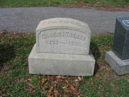 THOMAS, CHARLES - Schuylkill County, Pennsylvania | CHARLES THOMAS - Pennsylvania Gravestone Photos