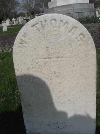 THOMAS (CW), WILLIAM T. - Schuylkill County, Pennsylvania   WILLIAM T. THOMAS (CW) - Pennsylvania Gravestone Photos