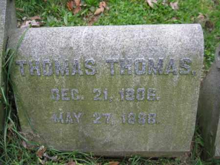 THOMAS, THOMAS - Schuylkill County, Pennsylvania | THOMAS THOMAS - Pennsylvania Gravestone Photos