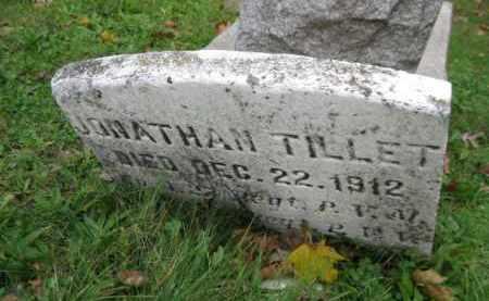 TILLET (CW), JONATHAN - Schuylkill County, Pennsylvania | JONATHAN TILLET (CW) - Pennsylvania Gravestone Photos
