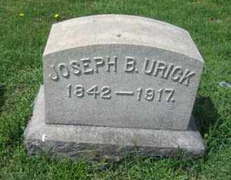 URICK, JOSEPH B. - Schuylkill County, Pennsylvania | JOSEPH B. URICK - Pennsylvania Gravestone Photos