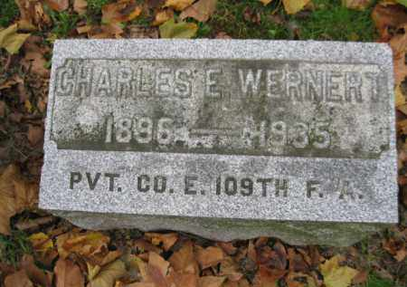 WERNERT  (WW I), CHARLES E. - Schuylkill County, Pennsylvania | CHARLES E. WERNERT  (WW I) - Pennsylvania Gravestone Photos