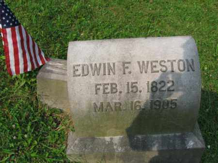WESTON, EDWIN F. - Schuylkill County, Pennsylvania | EDWIN F. WESTON - Pennsylvania Gravestone Photos