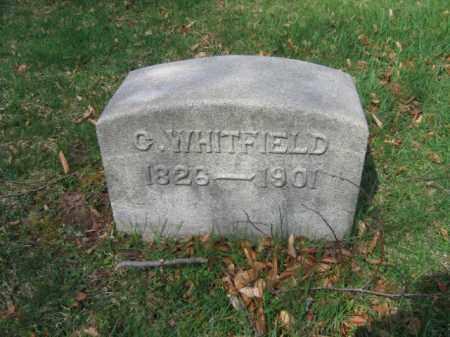 WHITFIELD, G. - Schuylkill County, Pennsylvania | G. WHITFIELD - Pennsylvania Gravestone Photos