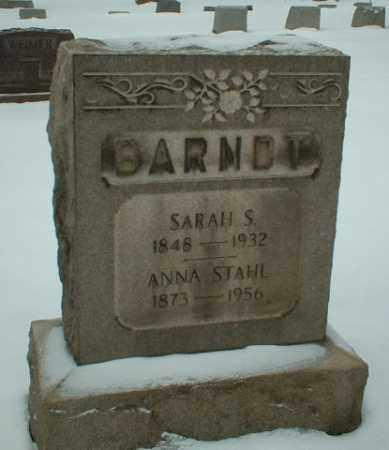 BRANDT, SARAH S - Somerset County, Pennsylvania   SARAH S BRANDT - Pennsylvania Gravestone Photos