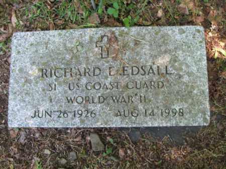 EDSALL (WW II), RICHARD E. - Susquehanna County, Pennsylvania | RICHARD E. EDSALL (WW II) - Pennsylvania Gravestone Photos