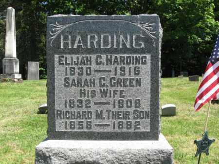 HARDING (CW), ELIJAH C. - Susquehanna County, Pennsylvania   ELIJAH C. HARDING (CW) - Pennsylvania Gravestone Photos