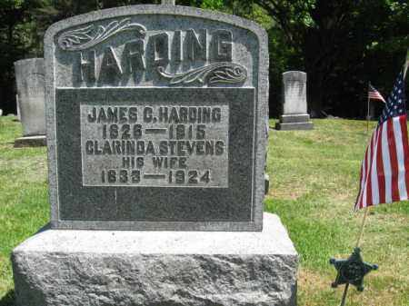 HARDING (CW), JAMES C. - Susquehanna County, Pennsylvania | JAMES C. HARDING (CW) - Pennsylvania Gravestone Photos