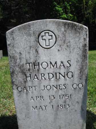 HARDING (RW), THOMAS - Susquehanna County, Pennsylvania | THOMAS HARDING (RW) - Pennsylvania Gravestone Photos