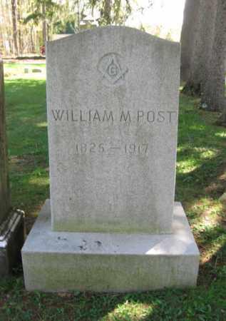 POST, WILLIAM M. - Susquehanna County, Pennsylvania | WILLIAM M. POST - Pennsylvania Gravestone Photos
