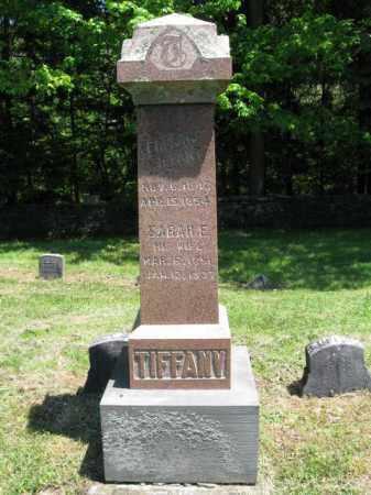 TIFFANY (CW), EDMUND - Susquehanna County, Pennsylvania   EDMUND TIFFANY (CW) - Pennsylvania Gravestone Photos