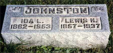 JOHNSTON, LEWIS HENRY - Venango County, Pennsylvania   LEWIS HENRY JOHNSTON - Pennsylvania Gravestone Photos