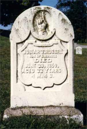 RUSSELL, JOSIAH T - Venango County, Pennsylvania   JOSIAH T RUSSELL - Pennsylvania Gravestone Photos