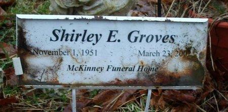 GROVES, SHIRLEY E. - Warren County, Pennsylvania | SHIRLEY E. GROVES - Pennsylvania Gravestone Photos