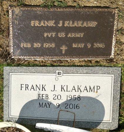 KLAKAMP, FRANK - Warren County, Pennsylvania | FRANK KLAKAMP - Pennsylvania Gravestone Photos
