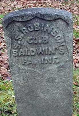 ROBINSON, SILAS S. - Warren County, Pennsylvania | SILAS S. ROBINSON - Pennsylvania Gravestone Photos