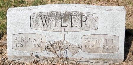 WILER, ALBERTA - Warren County, Pennsylvania | ALBERTA WILER - Pennsylvania Gravestone Photos
