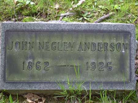 ANDERSON, JOHN - Washington County, Pennsylvania | JOHN ANDERSON - Pennsylvania Gravestone Photos
